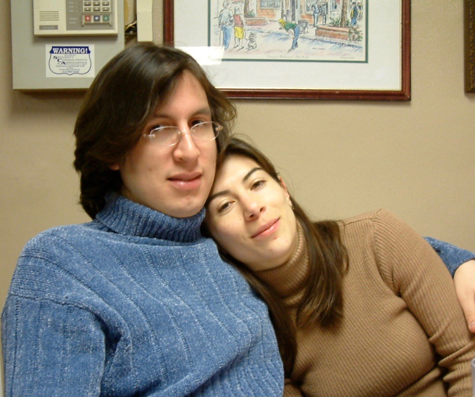 Alex Torrenegra and Tania Zapata in 2002
