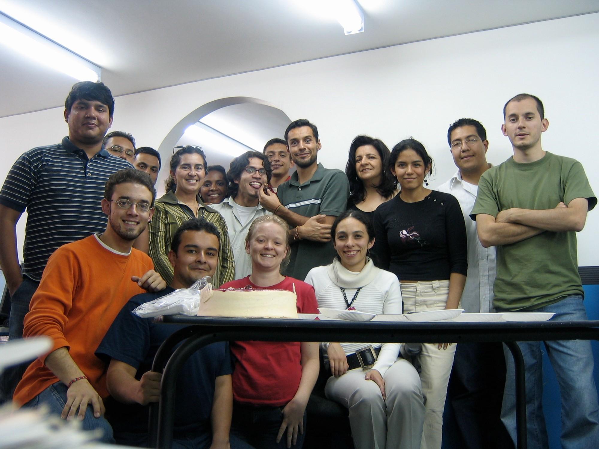 Voice123 2005 team