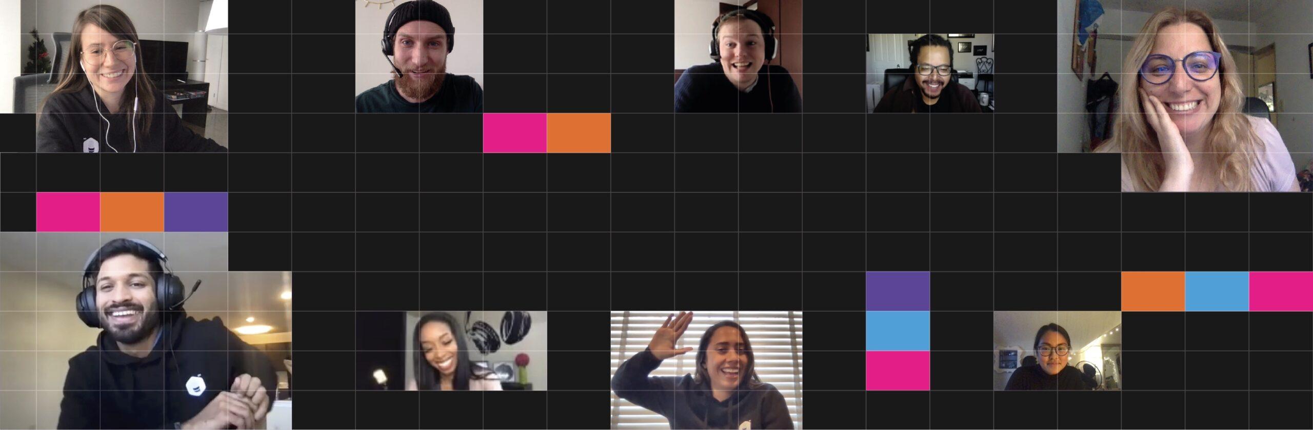 Virtual Social Hackathon for Project Authentic Voices