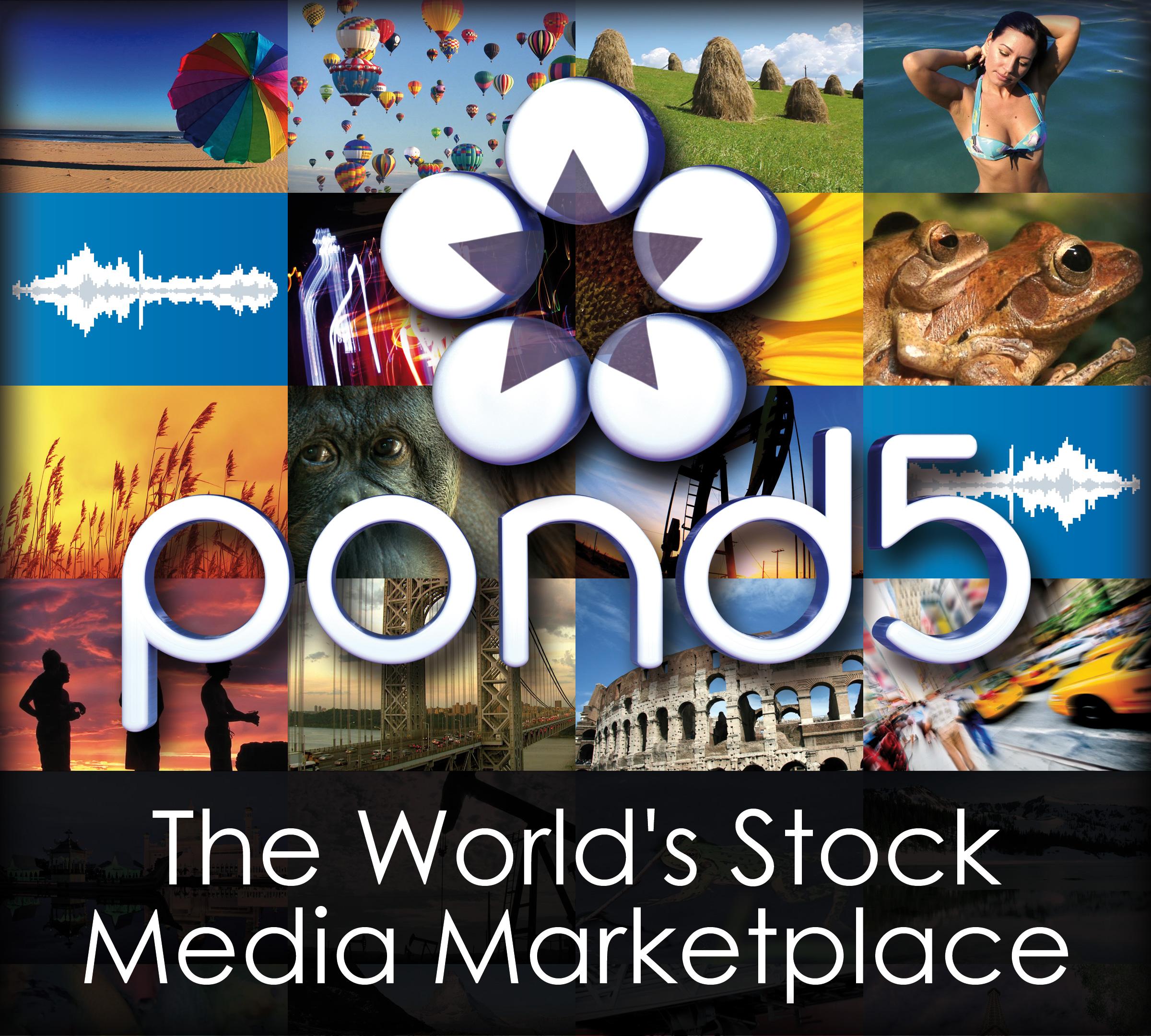 Pond5 Logo Mosaic sq4x6  1.5