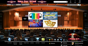 voiceover virtual conference