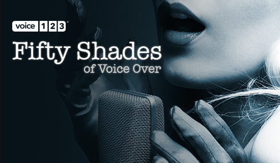 50 shades of voice over voice123