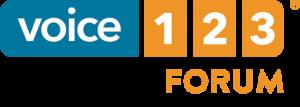 Voice123 forum logo