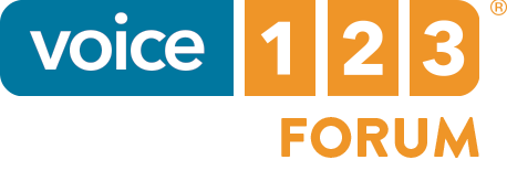 Voice123 forum logo