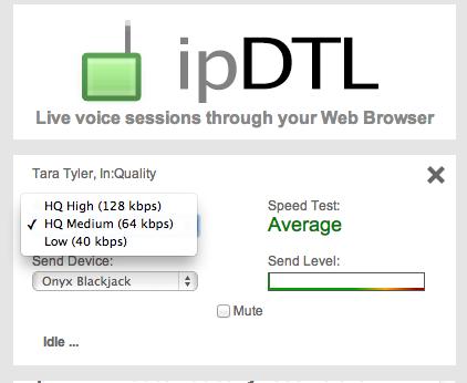 ipDTL screenshot