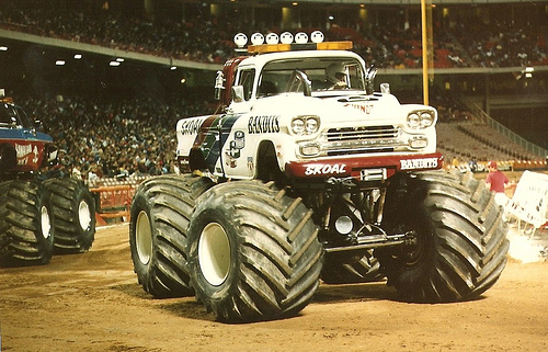 monster truck voice over read