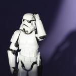 Storm Trooper wondering