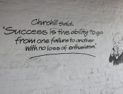 Success Failure Churchill Quote