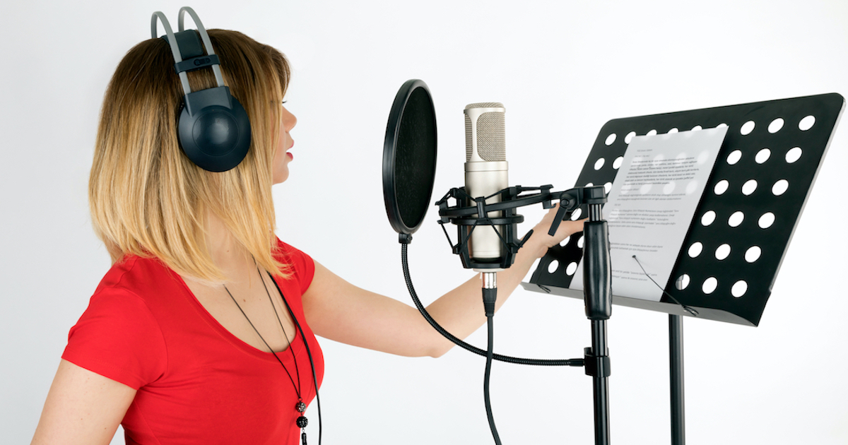 The voice acting payment riddle and how to solve it: image of a voice actor