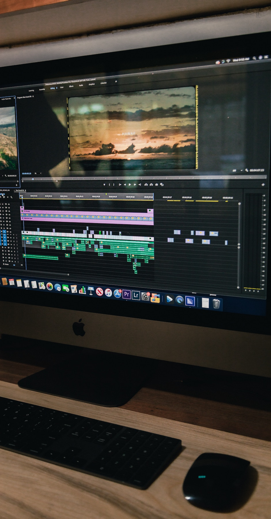 should you outsource your audio-editing? Picture of computer screen