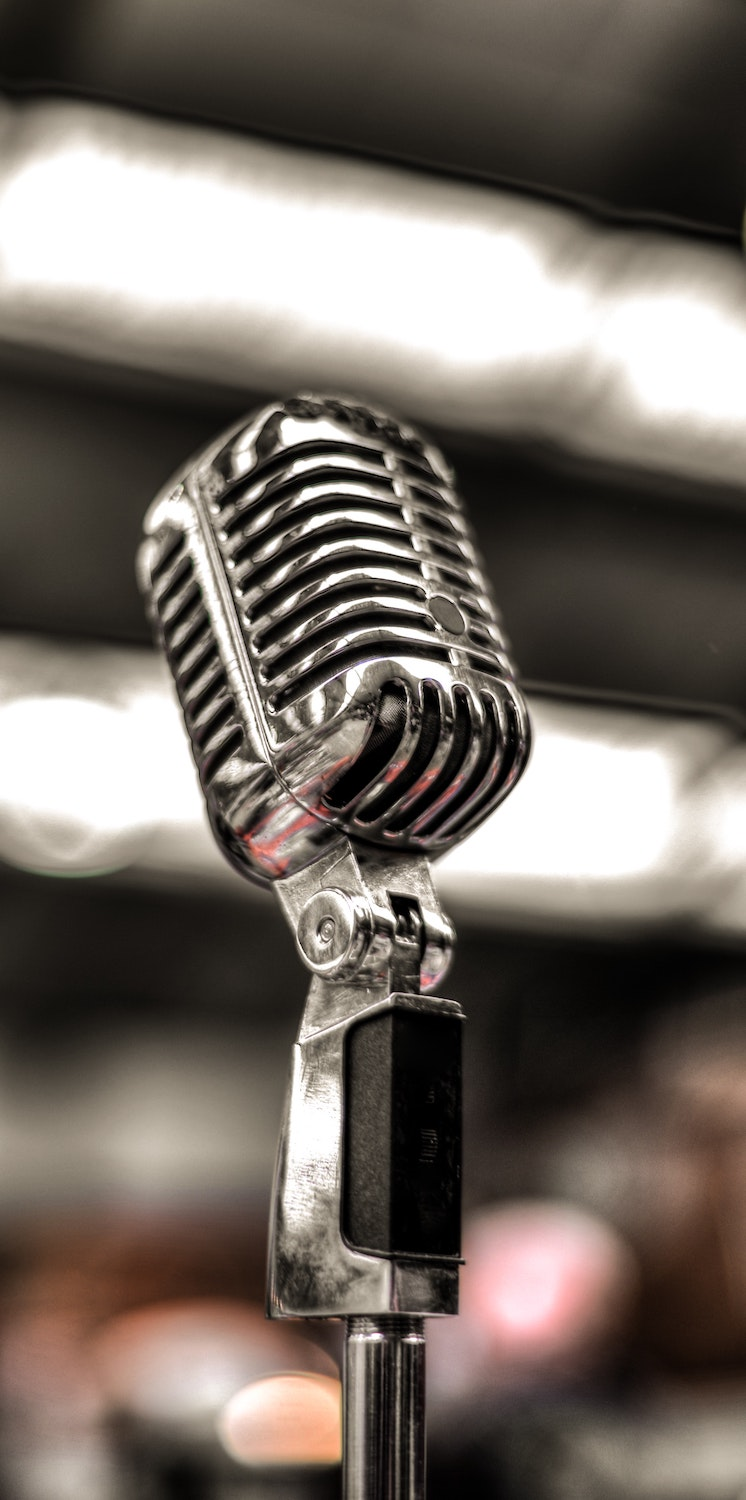Should you outsource your audio-editing? Image of microphone