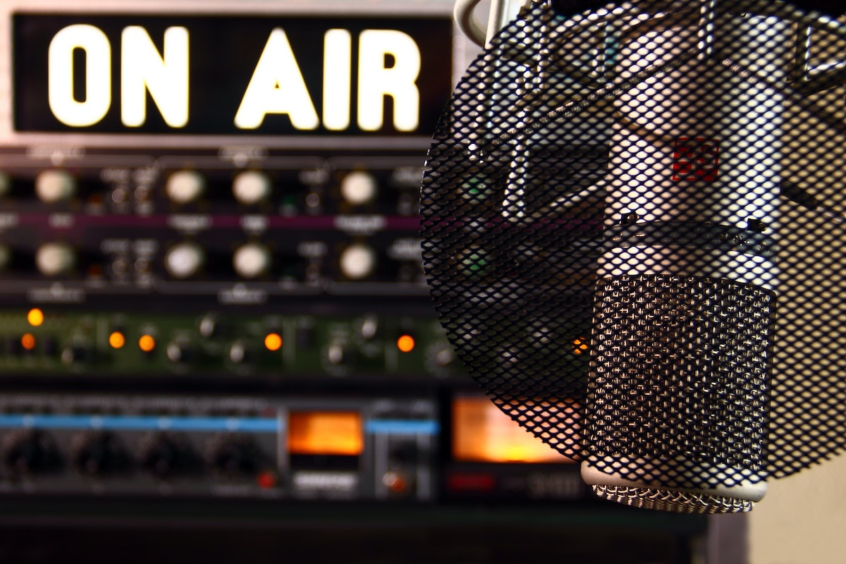 Cheap voice overs: inside a broadcast studio