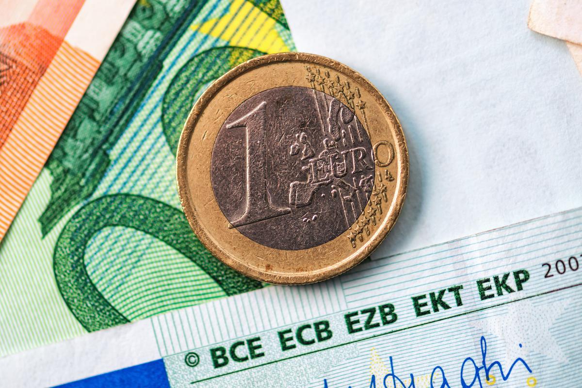 Hiring voice actors: image of European money