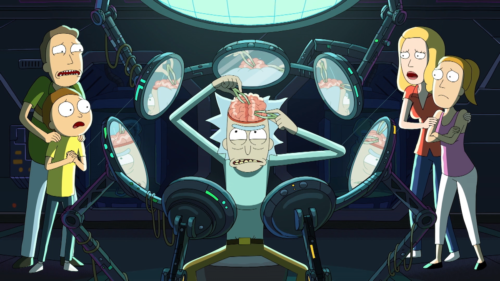 Rick and Morty: image from one of the episodes