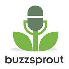 Podcast hosting: image of buzzsprout logo