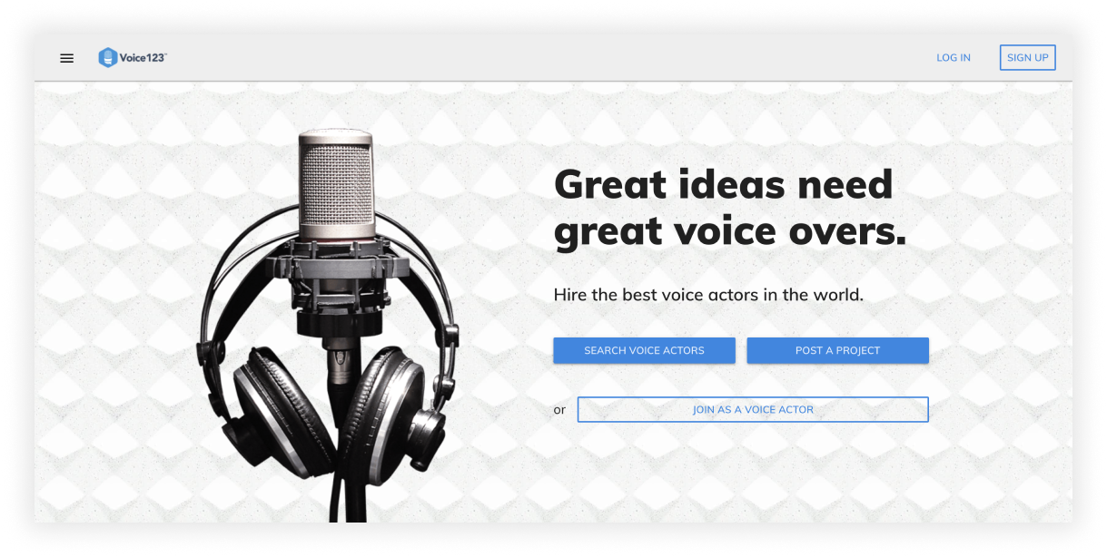 What you need to showcase on a successful voice actor website